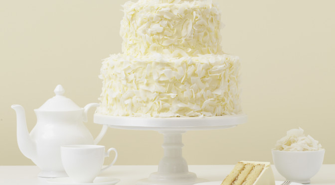 Amazing White Wedding Cake
